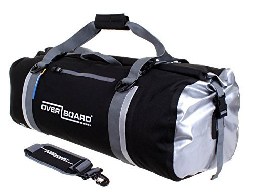 Overboard Classic Waterproof Duffel Bag - Black, 60 Litres by Overboard
