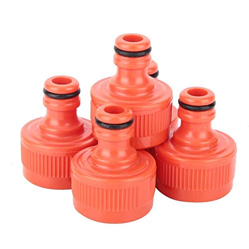"""Mumusuki Hose Quick Connect,Water Pipe Connector Water Faucet Connector 3/4"""" Water Connector Hose Tap Water Pipe Adapter for Home Garden Use(10pcs)"""