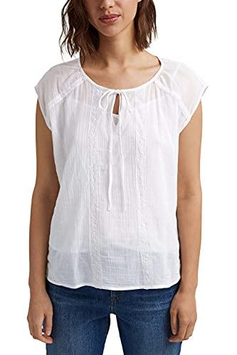 Esprit 051ee1f305 Blusas, Blanco, 46 para Mujer