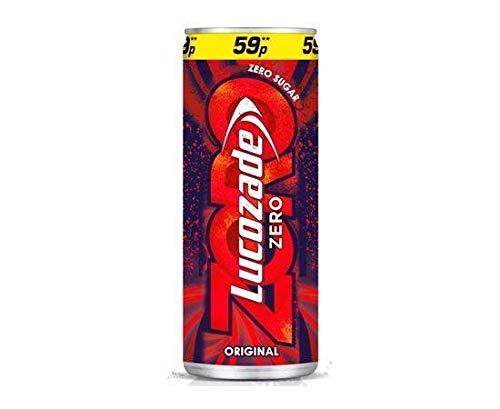 Lucozade - Zero Original Can 250Ml