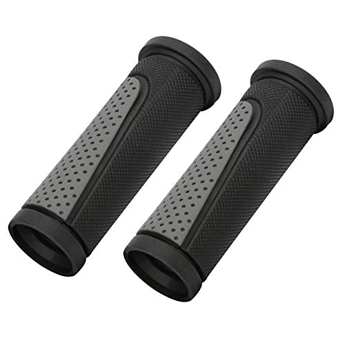 TOPCABIN Bike Grips Short Mini Bicycle Handlebar Grips Fit Many Standard Bikes 2PCS 90MM Length