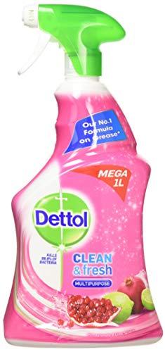 Dettol, pulitore fresco e potente multiuso, Melograno e Lime Splash, 1 litro (confezione da 3)