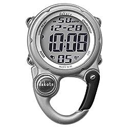 top rated Dakota Digital Clip Mini Watch-Waterproof-Silver 2021