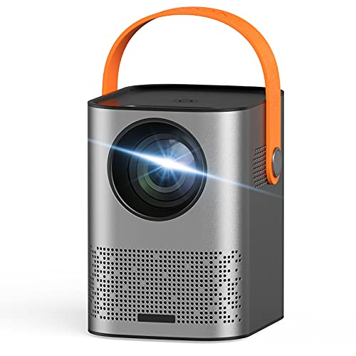 Portable Projector, Mini Projector 1080P Full HD, WiFi Projector with...
