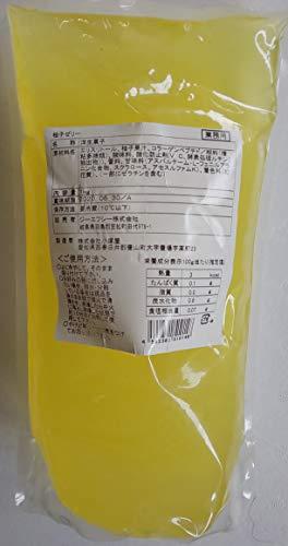業務用 カロリーゼロ 柚子 ゼリー 1kg×10P 冷凍