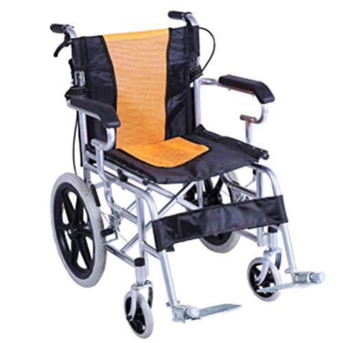 L-Y Rolstoel Vouwen Lichtgewicht Ouderen Kinderstoel Lichtgewicht Draagbare Reizen Kleine Rolstoel Effen Tire Rolstoel Scooter -8484Rolstoelen
