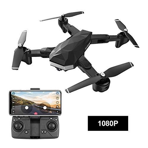 Drohnen, 4K Quadcopter Faltbare Live-Video GPS-Drohne 4-Achsen-Drohne mit Kamera für Erwachsene Anfänger Drohnen-Training Luftbild-Drohnen