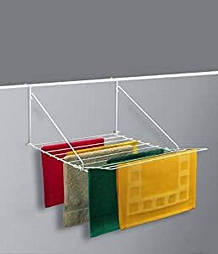 Metaltex Breda - Tendedero para balcón, 11 barras, 7 metros