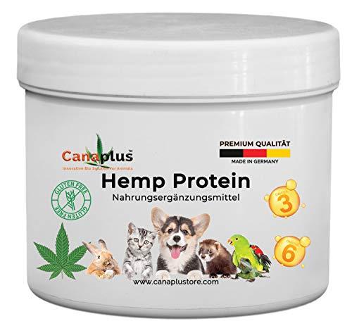 Canaplus Hemp Protein 350 g - Integratore Alimentare Naturale per Cavalli a Base di Farina...