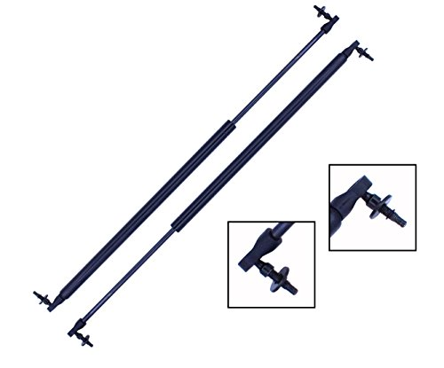 2 Pieces (Set) Tuff Support Liftgate Lift Supports Compatible With Chrysler and Dodge - Model Years Below