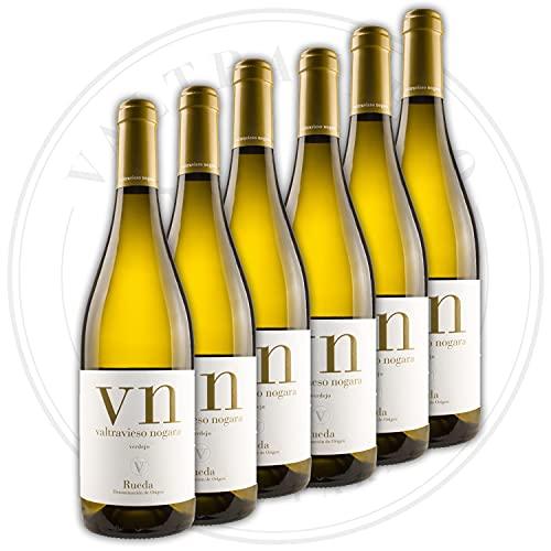 Nogara - Denominación de Origen Rueda/Vino Blanco/Variedad Verdejo 100% / Lote de 6 Botellas 750ml/Ud
