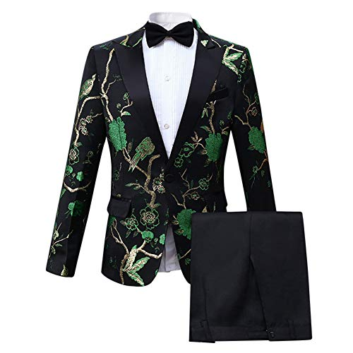 Nautica Three Piece Suit with Jacket, Pant, and Vest, Medium Blue, 12