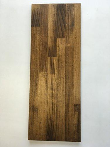 BRIWAX塗装(ジャコビアン色)済み ラジアタパイン集成材 (18x900x400(ミリ))