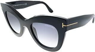Sunglasses Tom Ford FT 0612 01B Black Grey, Shiny Black,...