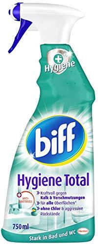 Biff Hygiene Total Badreiniger (für alle Oberflächen), (750 ml Sprühflasche)