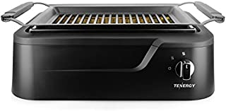 Tenergy RedigrillSmoke-Less Infrared Grill, Indoor Grill, HeatingElectric Tabletop Grill, Non-Stick Easy to CleanBBQ Grill, for Party/Home, ETL Certified