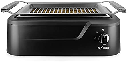 Tenergy Redigrill Smoke-Less Infrared Grill, Indoor Grill, Heating Electric Tabletop Grill, Non-Stick Easy to Clean BBQ Grill, for Party/Home, ETL Certified