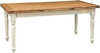 Biscottini Table, Bois, Blanc, Taglia Unica