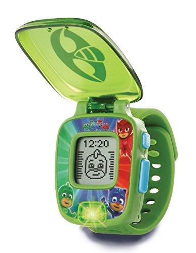 VTech-80-175887 PJ Masks Gekko, Reloj Digital Educativo, Color Verde (80-175887)