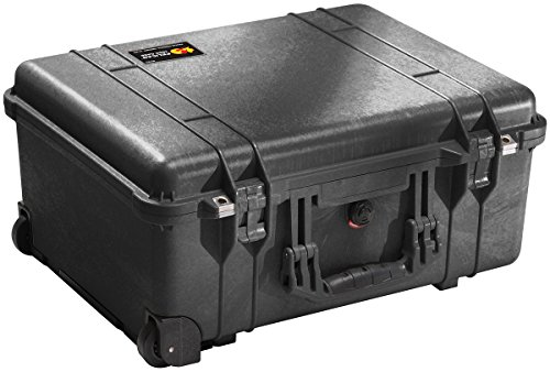 Pelican 1560 Case With Padded Dividers (Black)