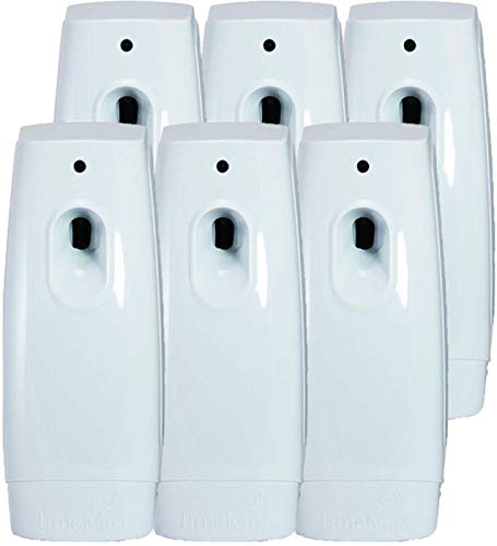 TimeMist Classic Metered Aerosol Fragrance Dispenser 1047717 (6 Units) Great for Bathroom, Locker Room, Breakroom and Washroom