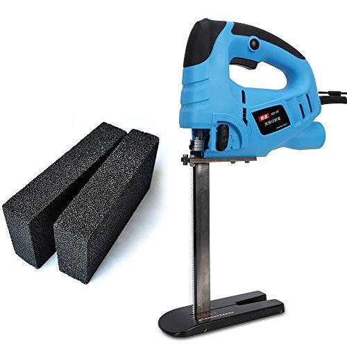 220 V/50 Hz 570 W Máquina de cortar espuma eléctrica para cortar...