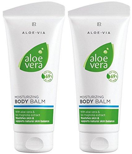 LR ALOE VIA Aloe Vera Feuchtigkeitsspendender Körperbalsam (2x 200 ml)