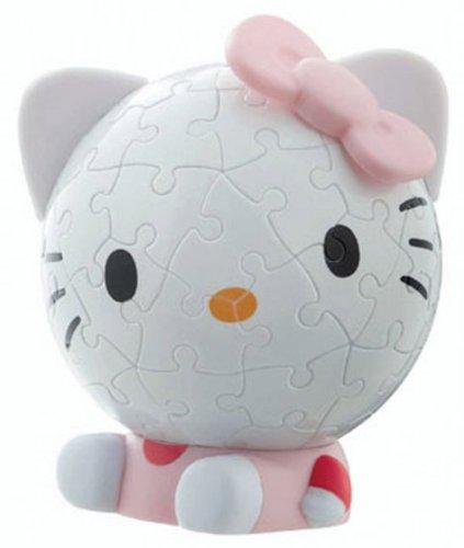 Ravensburger 11416 - Puzzle sferico, Hello Kitty, 60 Pezzi