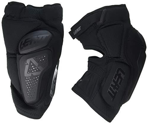 Leatt La 3df 6.0 ist eine Rundum-Kniebandage, weich und verschiebbar Sie ist für Mountainbikes geeignet. Knieschoner Unisex, Uni, 5018400470, Schwarz, S/M