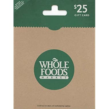 Whole Foods Market $25 Gift Card