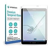 smartect Schutzglas kompatibel mit Samsung Galaxy Tab S2 9.7 Zoll (T810, T815, T820, T825) - Tempered Glass mit 9H Festigkeit - Blasenfreie Schutzfolie - Anti-Kratzer Bildschirmschutzfolie