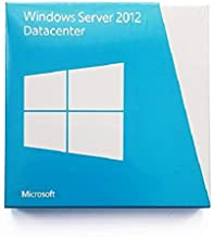 Microsoft P73-05363 - Windows Server 2012 Datacenter Edition, Retail Pack con 5 CALs