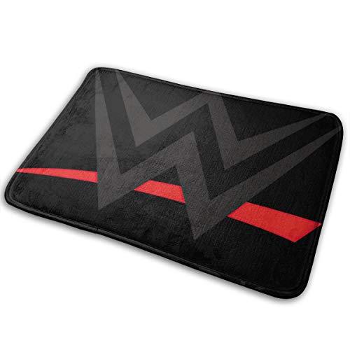 """WWE Wrestlemania Events Underlay Bedroom Polyester Carpet Tiles Indoor Outdoor 15.7"""""""" X 23.5"""