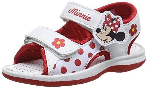 Disney Girls Kids Classic Sandals and Mules, Ouvertes. Garçon, Multicolore 198 White Red, 31 EU