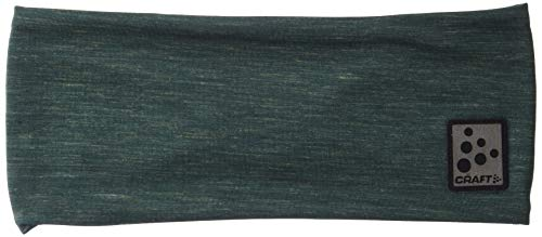 Craft Stirnband aus Mikrofleece, weich, dehnbar, Unisex, Microfleece Shaped Soft Stretch Cold Weather Headband, Kiefer, One Size