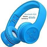 Bluetooth Kopfhörer für Kinder, Hisonic kinderkopfhörer Bluetooth mit Laustärkebegrenzung...