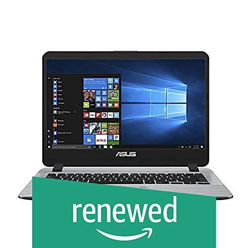 (CERTIFIED REFURBISHED) ASUS VivoBooK Intel Core i5 8th Gen 14-inch Thin and Light Laptop (4GB/16GB Optane/1TB HDD/Windows 10/Stary Gray/1.55 Kg), X407UA-EB419T