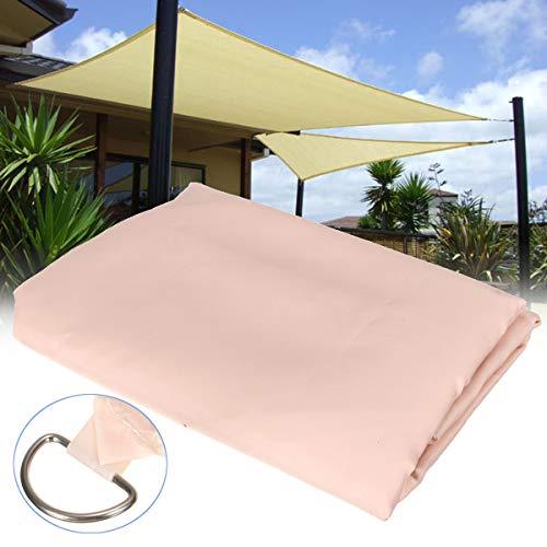 Industrial Hardware 2x3m Patio Exterior Pantalla Vela Jardín Cubierta de Malla de Poliéster Coche Ventana Toldo Carport Canopy