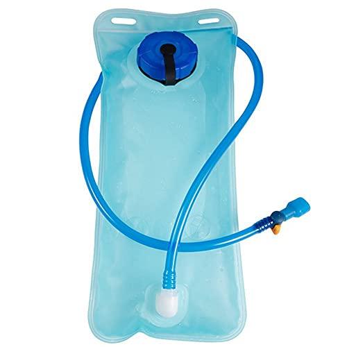 Vejiga de Agua de 2 litros de hidratación de 2 litros, Bolsa de derrame de Agua a Prueba de Fugas, Bolsa de derrame de Agua, Bolsa de hidratación, Paquete de hidratación con Tubo Aislado y válvula de