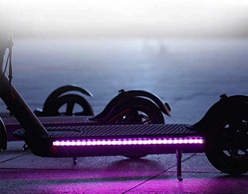 Lámpara de Barra de Luz Tira LED Plegable para Xiaomi Mijia M365...