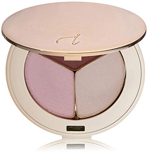 Jane Iredale PurePressed Eye Shadow Triple - Pink Bliss (Part Shimmer),
