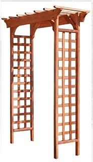 redwood trellis panels