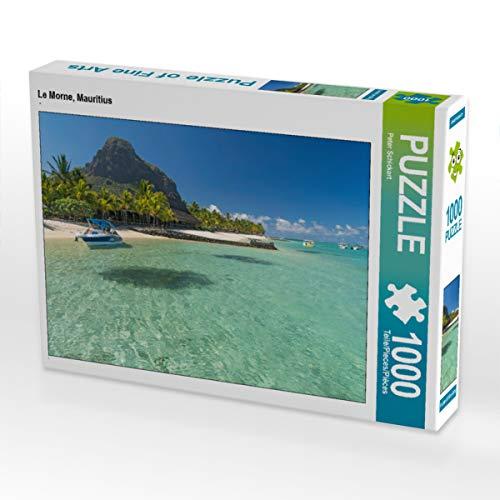 CALVENDO Puzzle Le Morne, Mauritius 1000 Teile Lege-Größe 64 x 48 cm Foto-Puzzle Bild von Peter Schickert