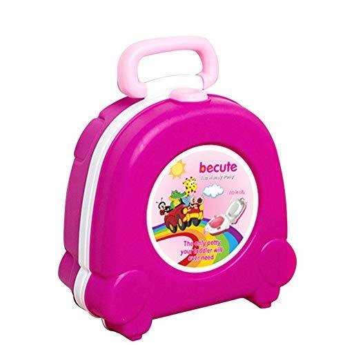 UBVV - Vasino da viaggio per bambini, portatile, pieghevole, per bambini, bambini, Ragazza.