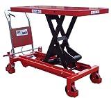 Elevador de tijera 1500kg Funda para mesa (Heavy Duty)