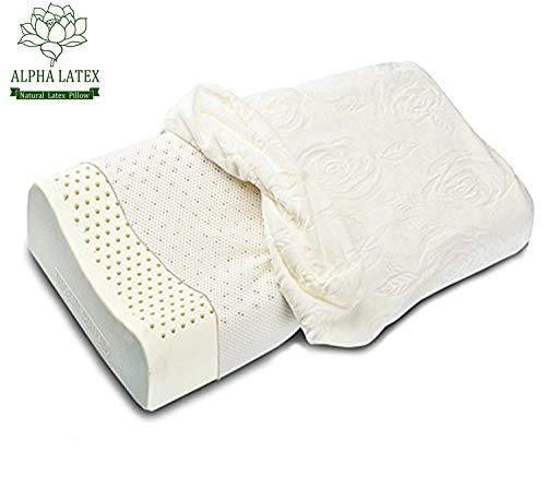 Alpha Contour Latex Pillow