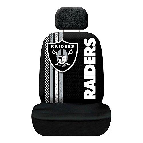Fremont Die NFL Oakland Raiders Rally Sitzbezug, schwarz, one Size