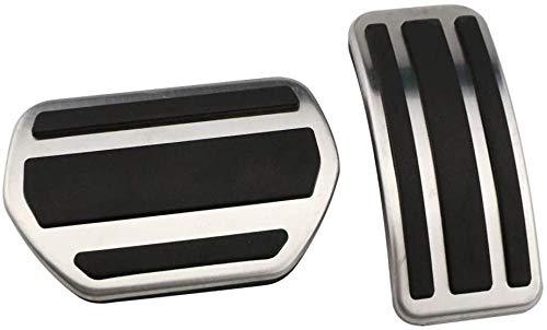 Accesorio de Coche,Ajuste de Placa de Almohadilla de Pedal modificada a Gas,para Peugeot 207, 301, 307, 208, 2008, 308,408,para Citroen C3 C4,para DS 3 4 6 DS3 DS4 DS6-2pcs