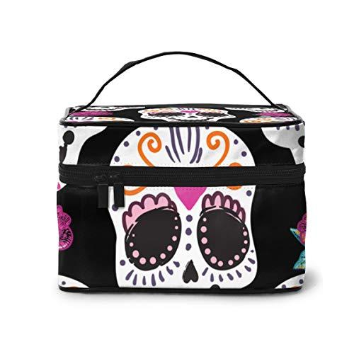 Skull (8) Bolsa de Maquillaje Bolsa de cosméticos Bolsa de artículos de...