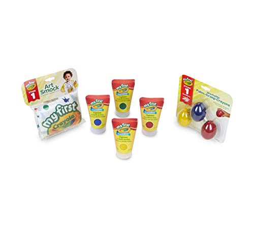 Crayola My First Scribbler Bundle, Toddler Paint Set with Egg Crayons, Gift, Multicolor